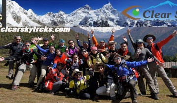 clearskytreks fixed departure ,trek in nepal