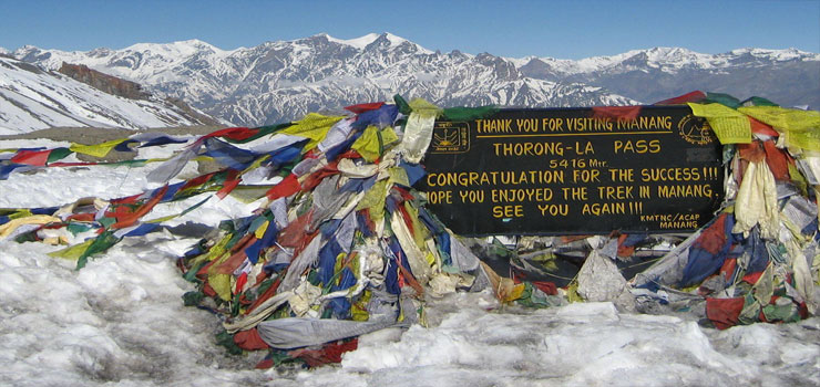 Annapurna Round Trekking for high pass